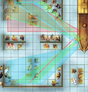 Games DC Heroclix JSA Museum Map on