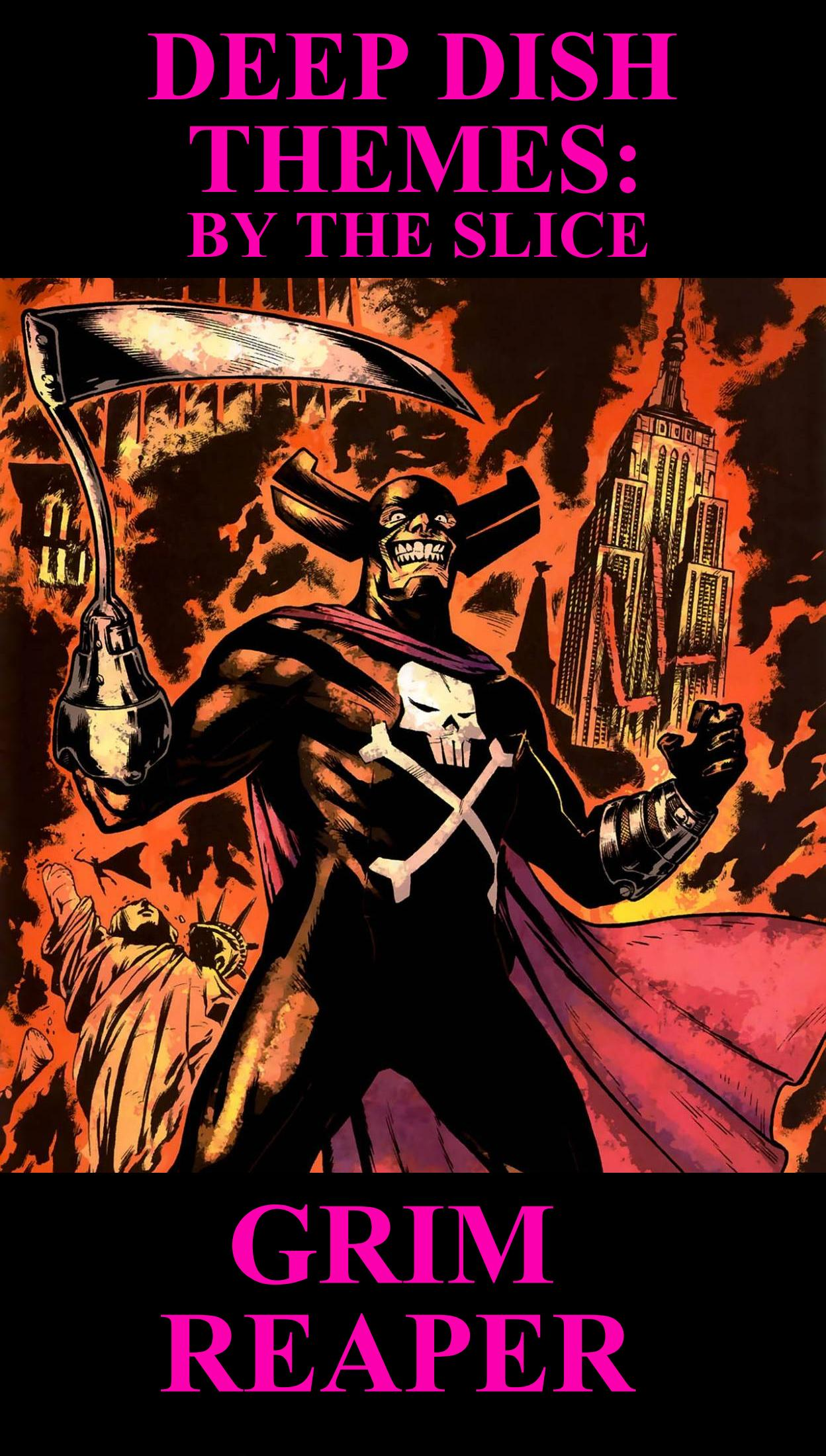 Deep Dish Themes Grim Reaper - HeroClix Realms